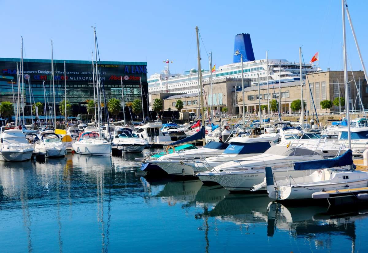 Harbour Vigo, Spain
