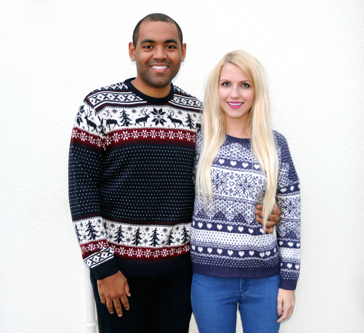 His & Hers Christmas Jumpers