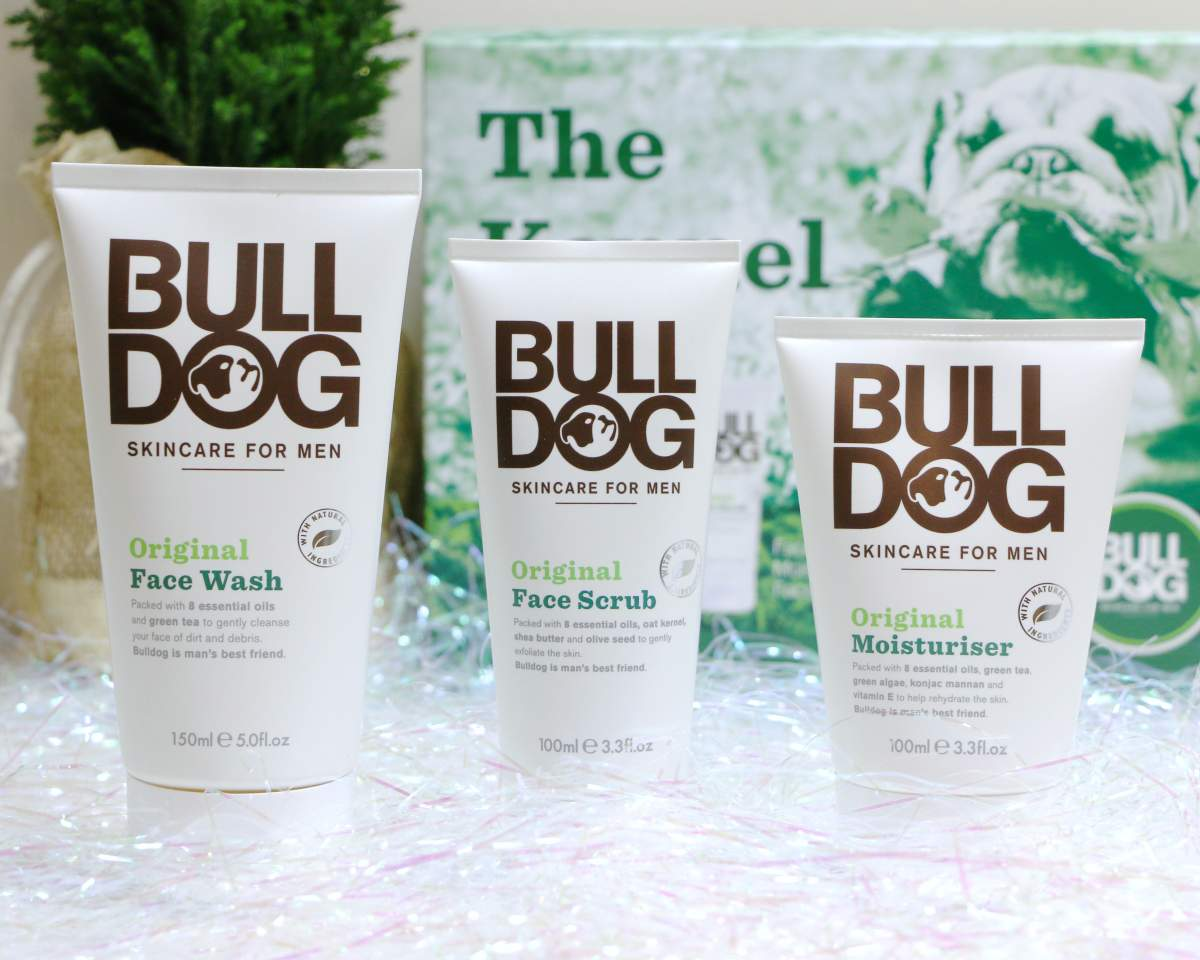 bull dog christmas gift set mens