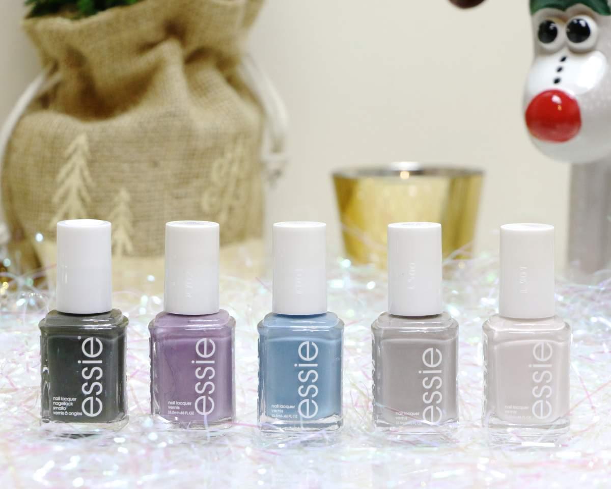 winter essie nail polish