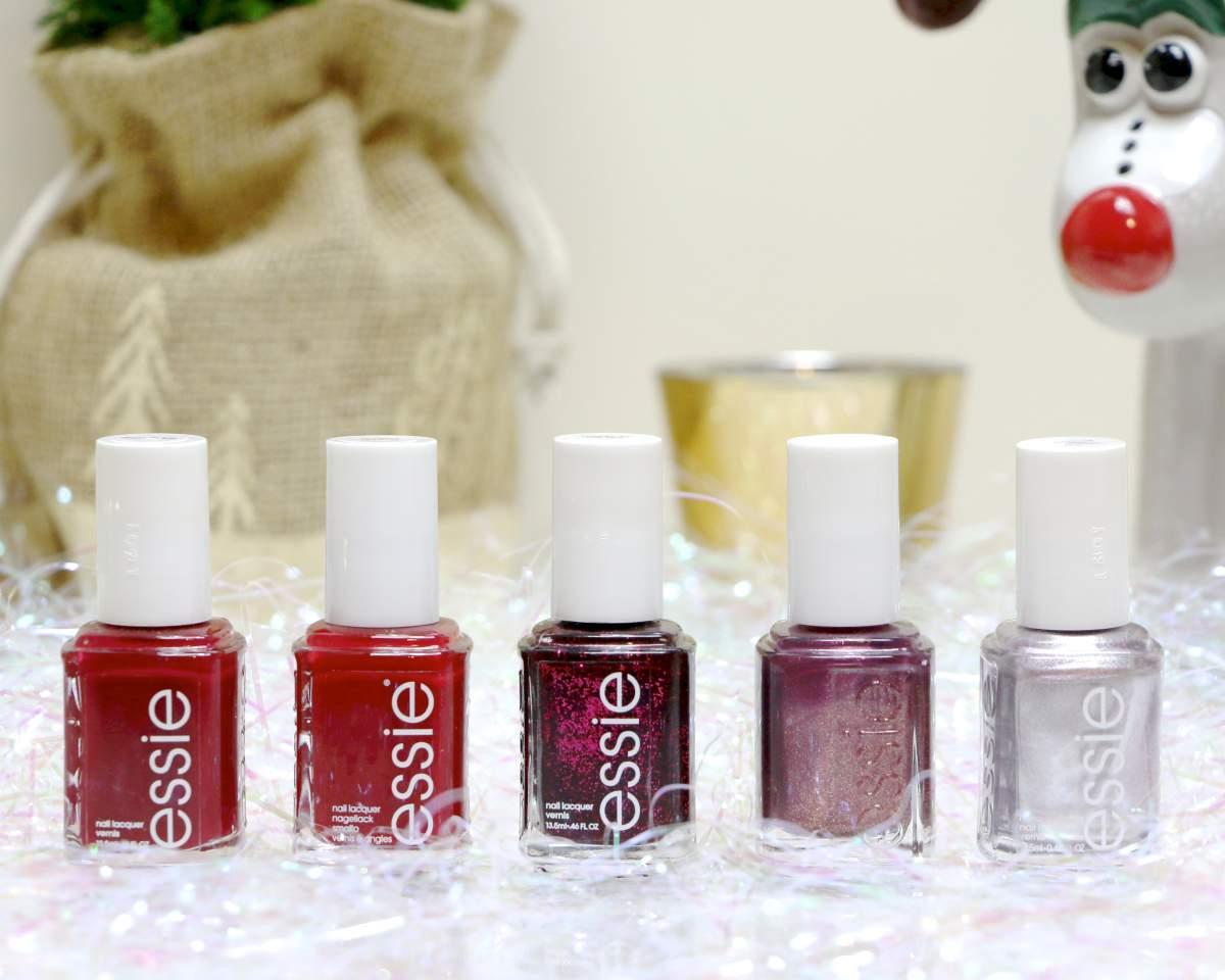 winter shades essie nail polish