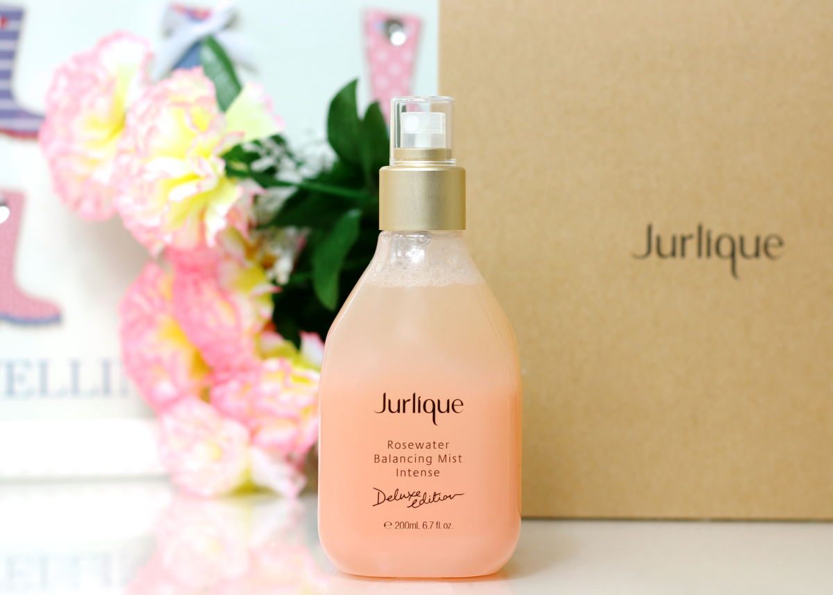 jurlique rosewater balancing mist intense deluxe edition review copy