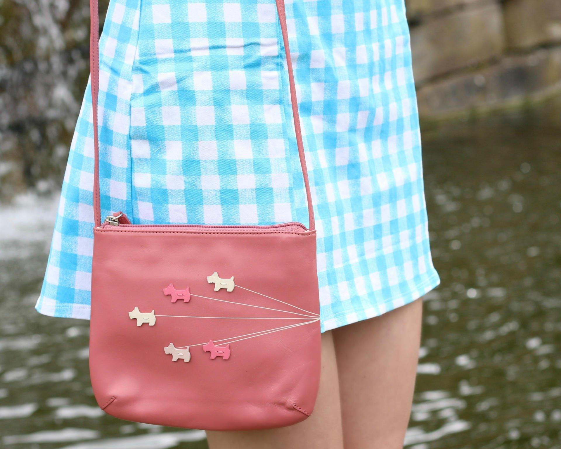 pink radley bag