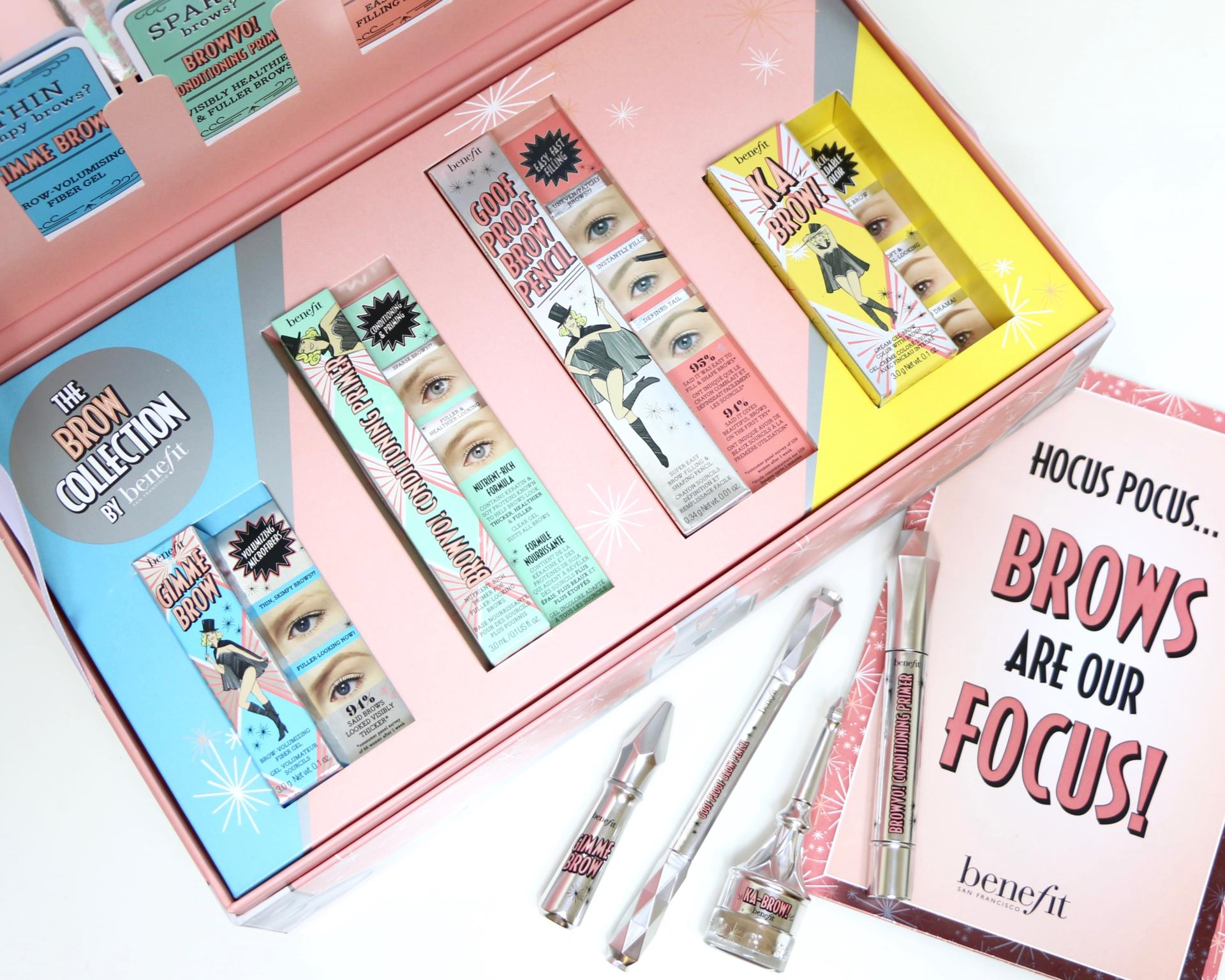 benefit brow collection new