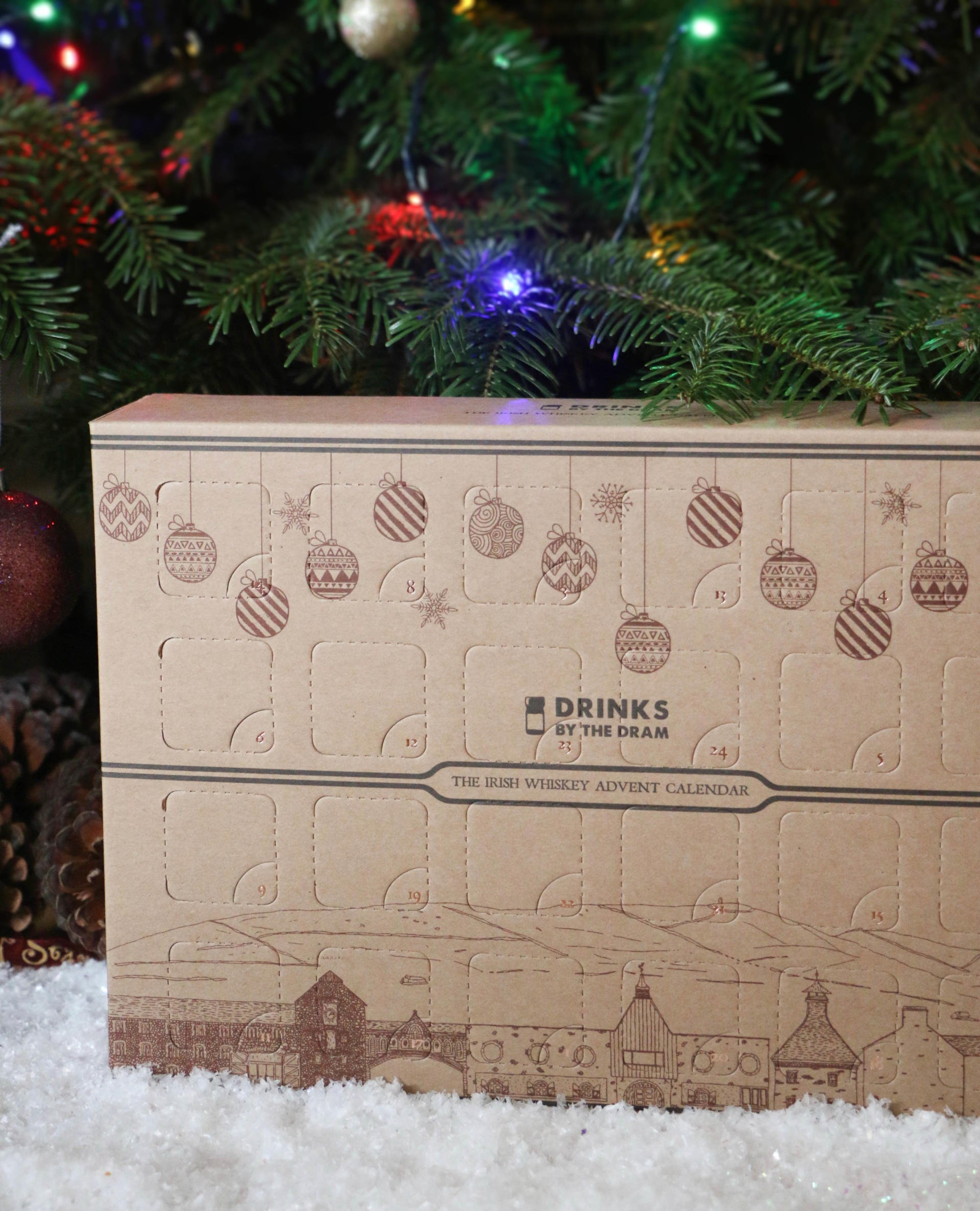 Drinks By The Drams Irish Whiskey Advent Calendar