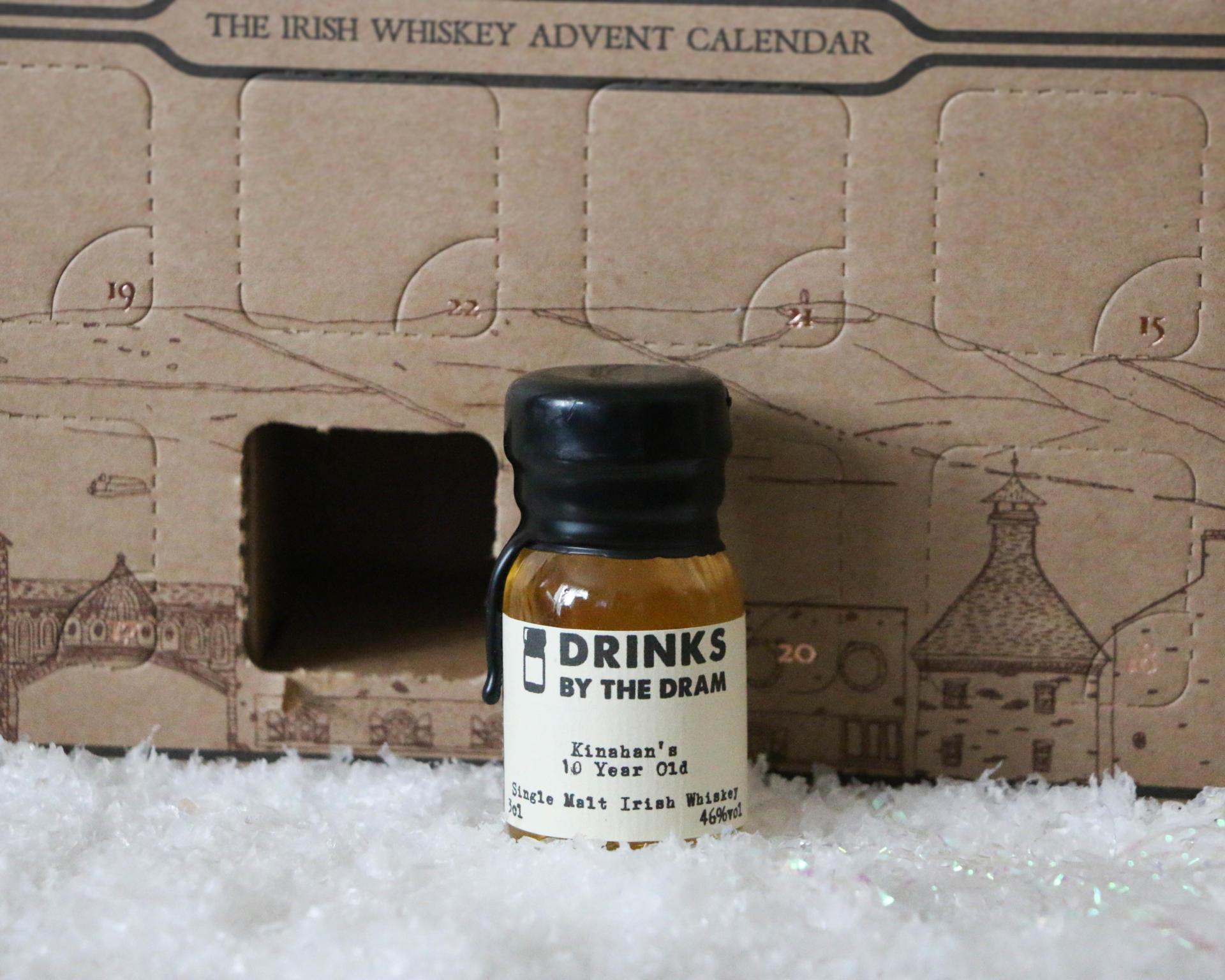 Drinks By The Drams Irish Whiskey Advent Calendar