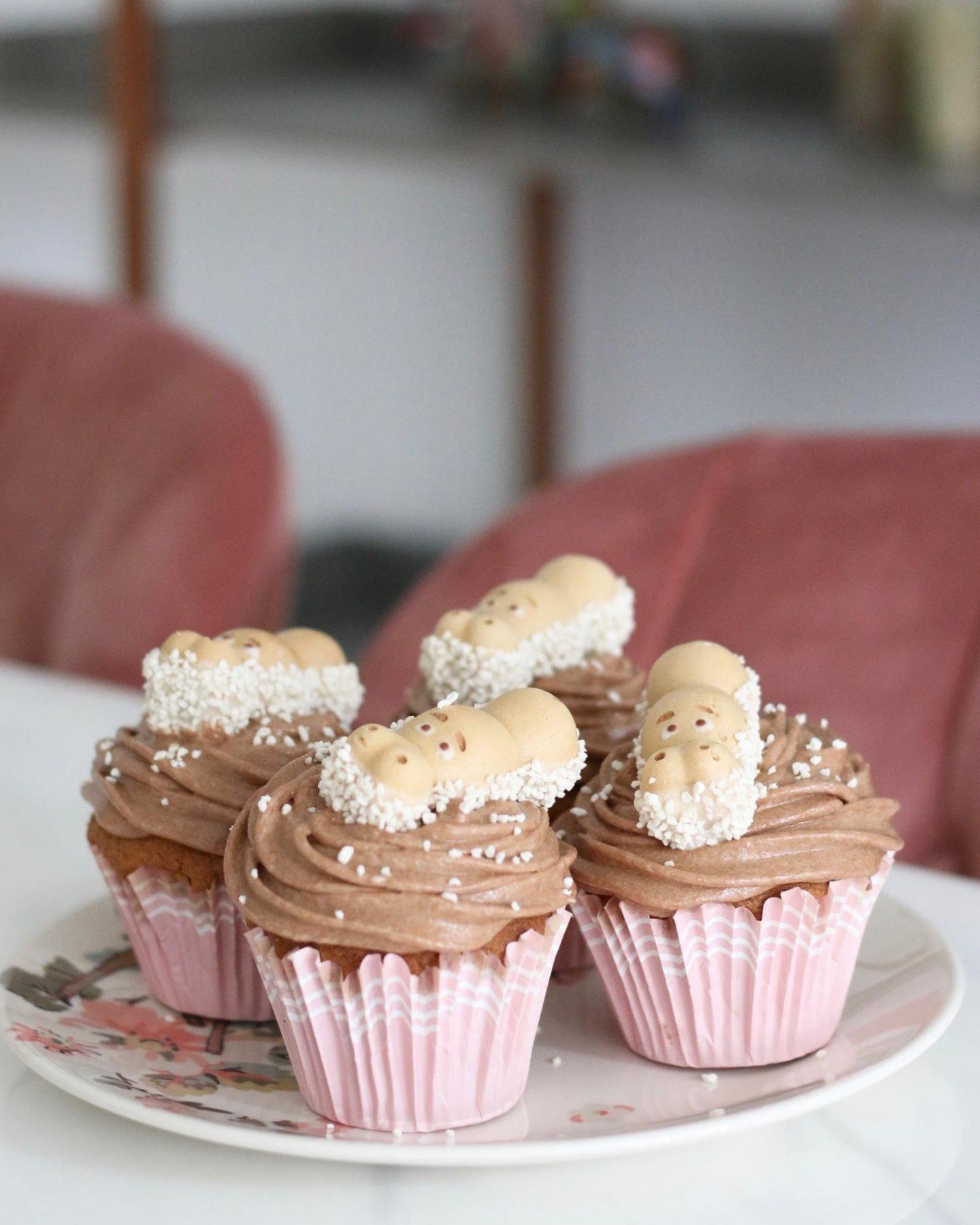 Happy Hippo Cupcakes