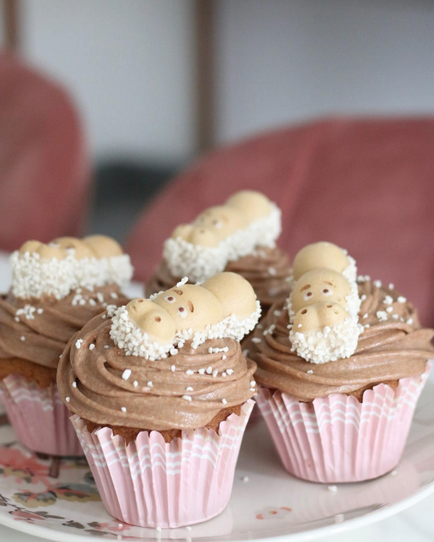 Happy Hippo Cupcakes and Nutella Buttercream Icing