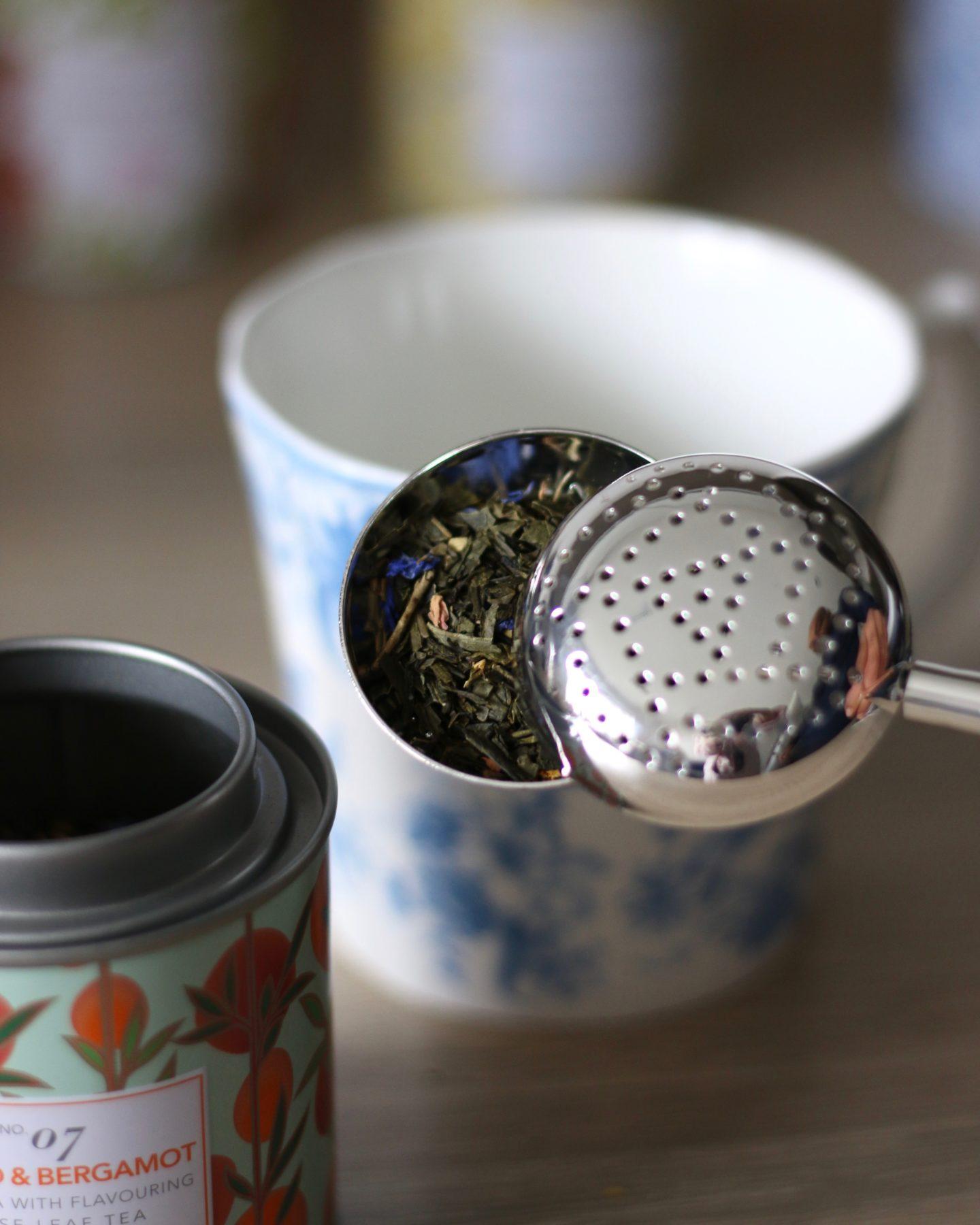 whittard loose tea strainer
