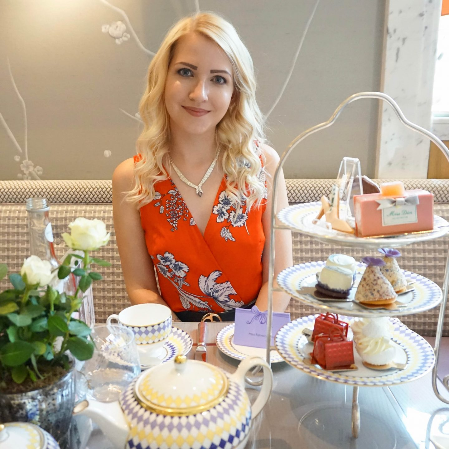 Dior Prêt-à-Portea afternoon tea