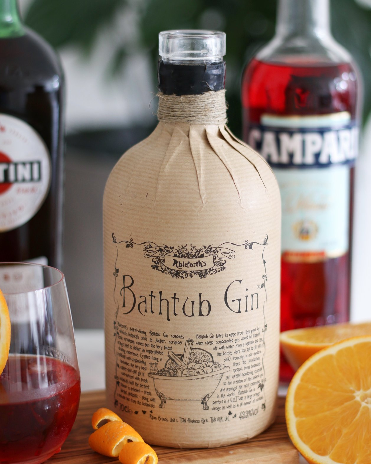 bathtub gin