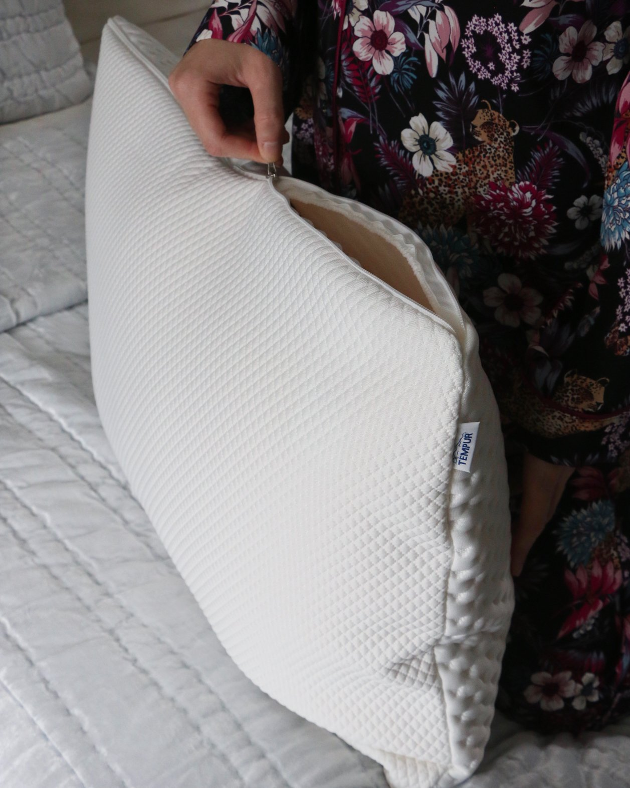 tempur pillow removable cover