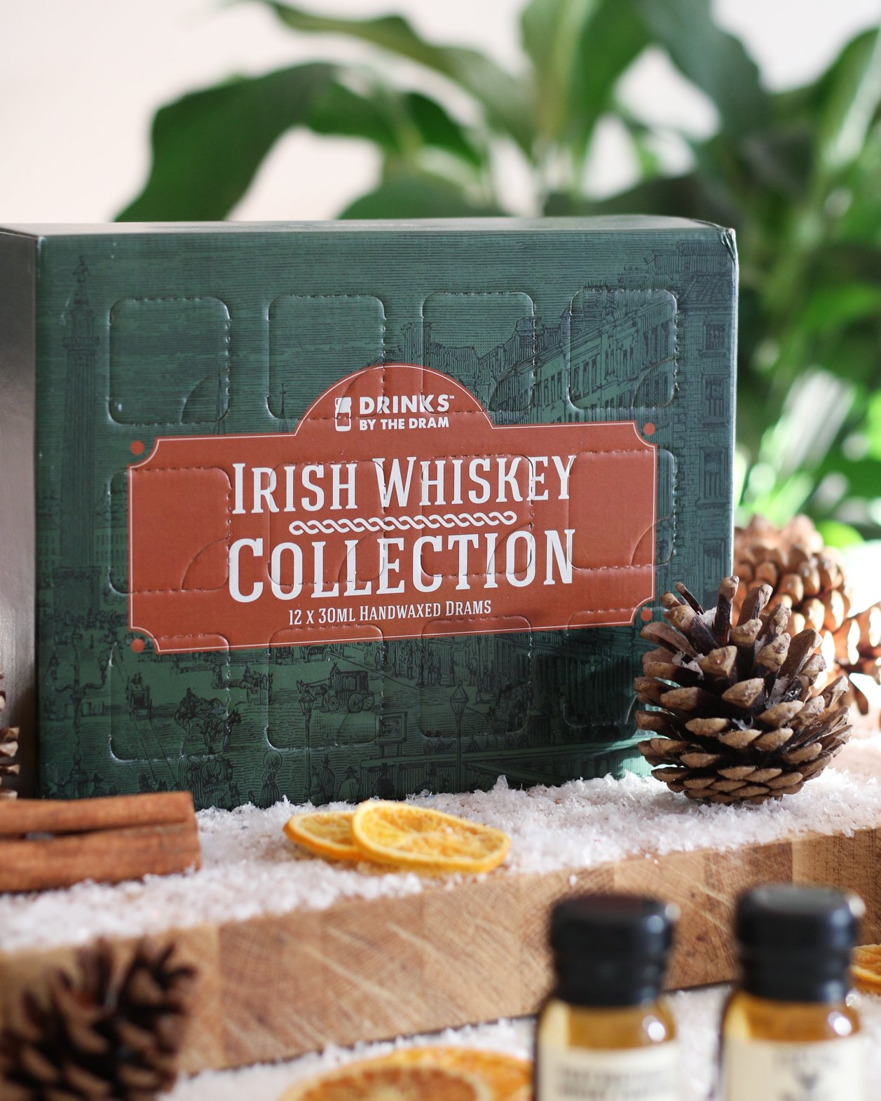 irish whiskey collection