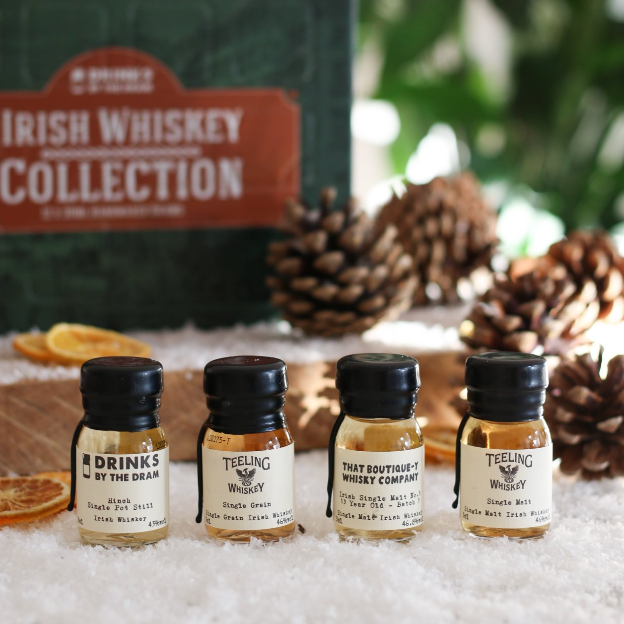 small irish whiskey drams